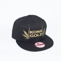 Kona Gold Split Leaf Snap-Back New Era 9-Fifty Hat