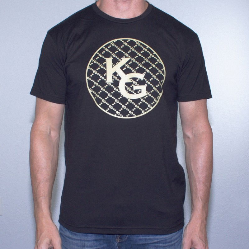 KG Circle Black T-Shirt
