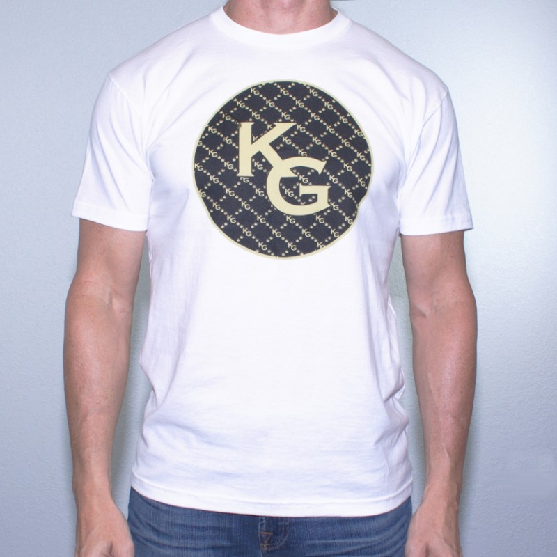 KG Circle White T-Shirt