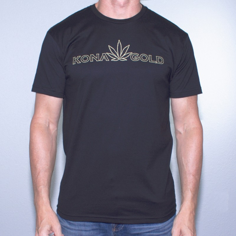 Kona Gold Outline T-Shirt
